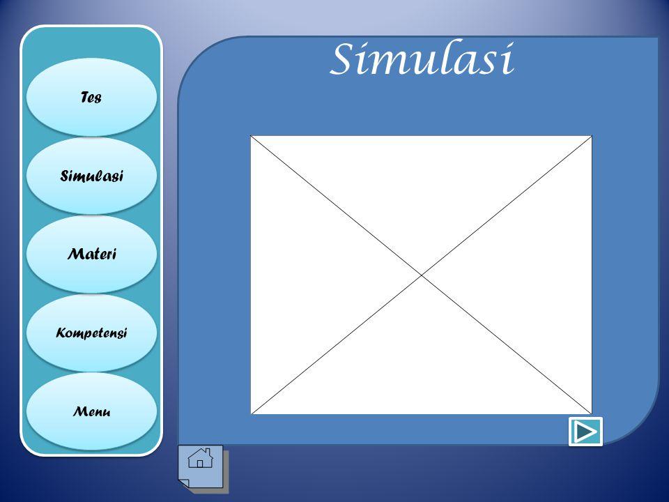 Simulasi Tes Simulasi Materi Kompetensi Menu