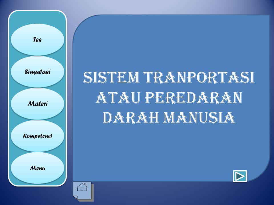 Sistem tranportasi atau peredaran darah manusia