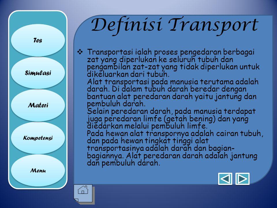 Definisi Transport Tes.
