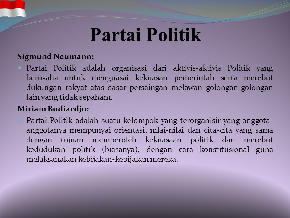 Partai Politik Sigmund Neumann: