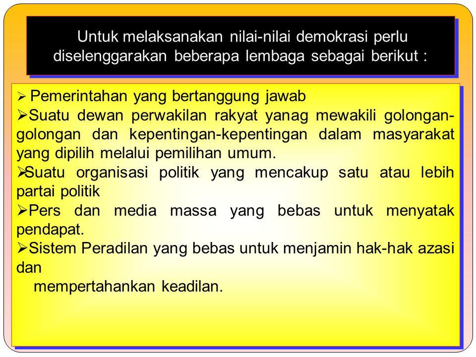 Suatu organisasi politik yang mencakup satu atau lebih partai politik