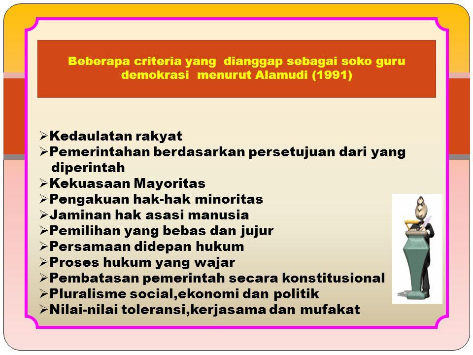 Pemerintahan berdasarkan persetujuan dari yang diperintah