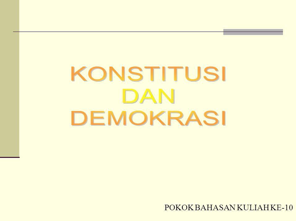 POKOK BAHASAN KULIAH KE-10