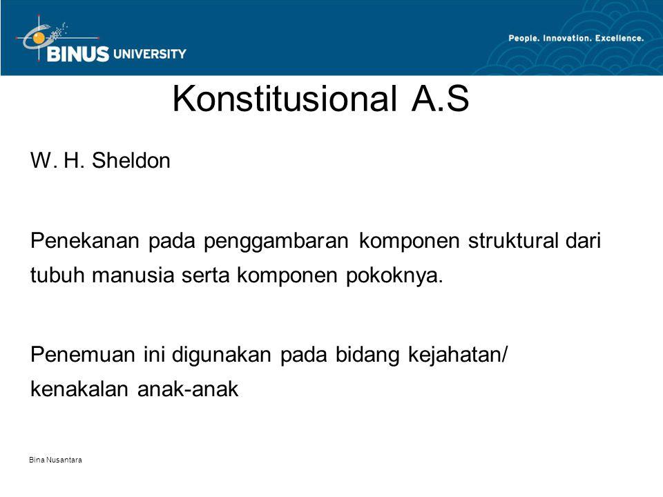 Konstitusional A.S W. H. Sheldon