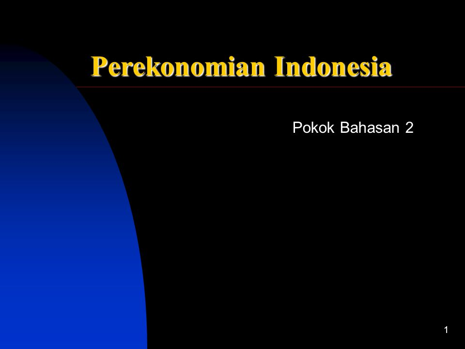 the best Pokok Bahasan 2 Sistem Ekonomi Indonesia