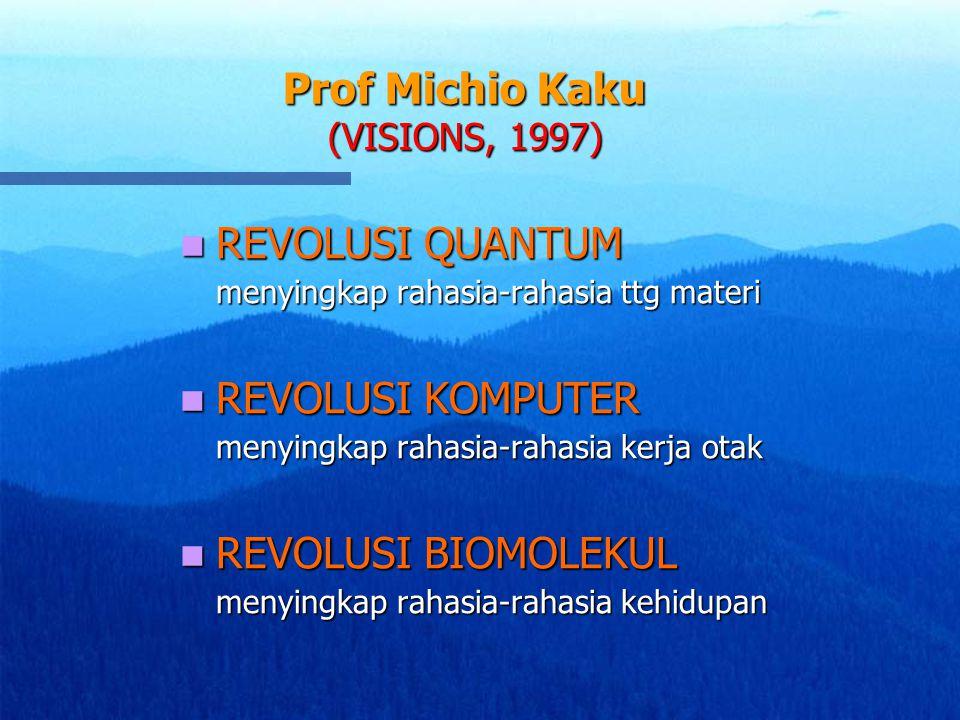 Prof Michio Kaku (VISIONS, 1997)