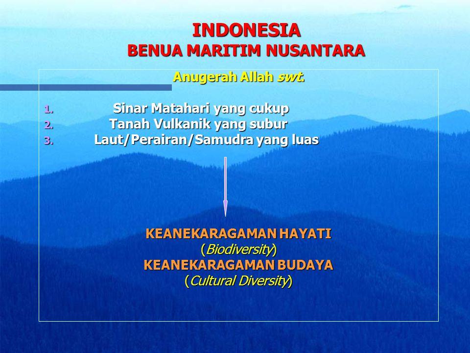 INDONESIA BENUA MARITIM NUSANTARA
