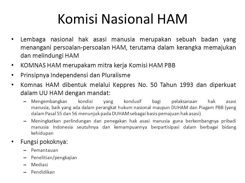 Komisi Nasional HAM