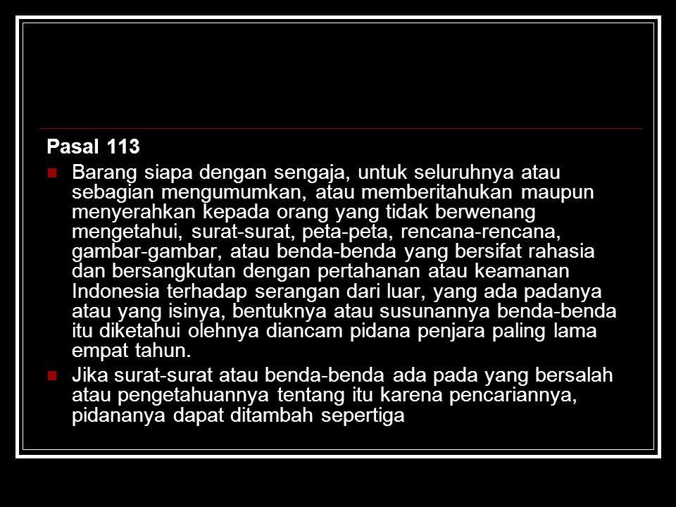 Pasal 113