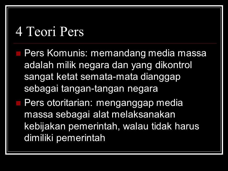 4 Teori Pers