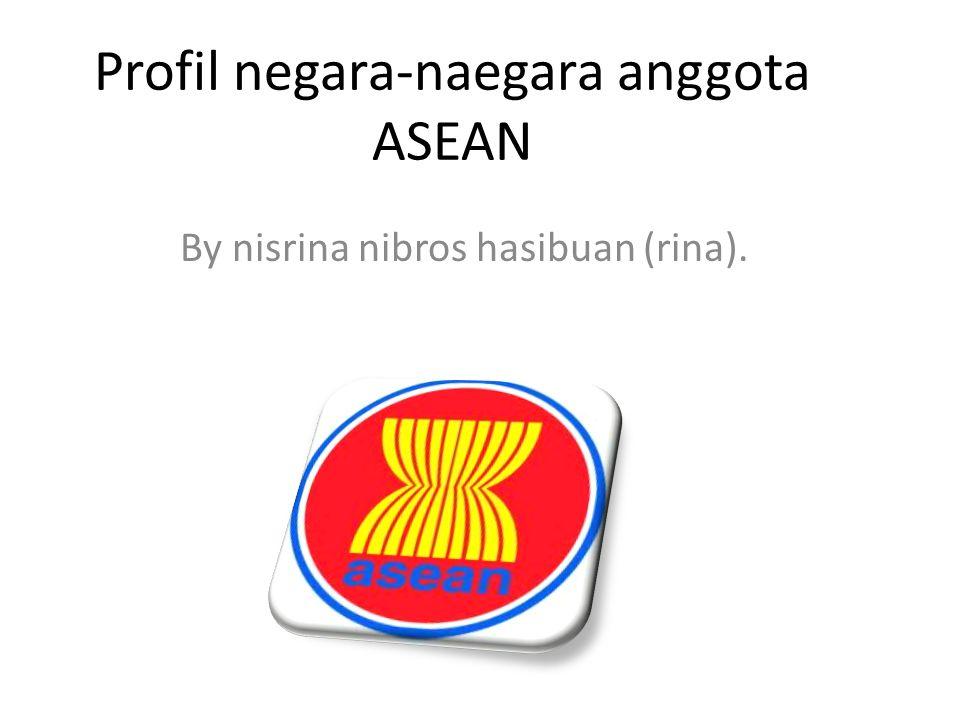 Profil negara-naegara anggota ASEAN