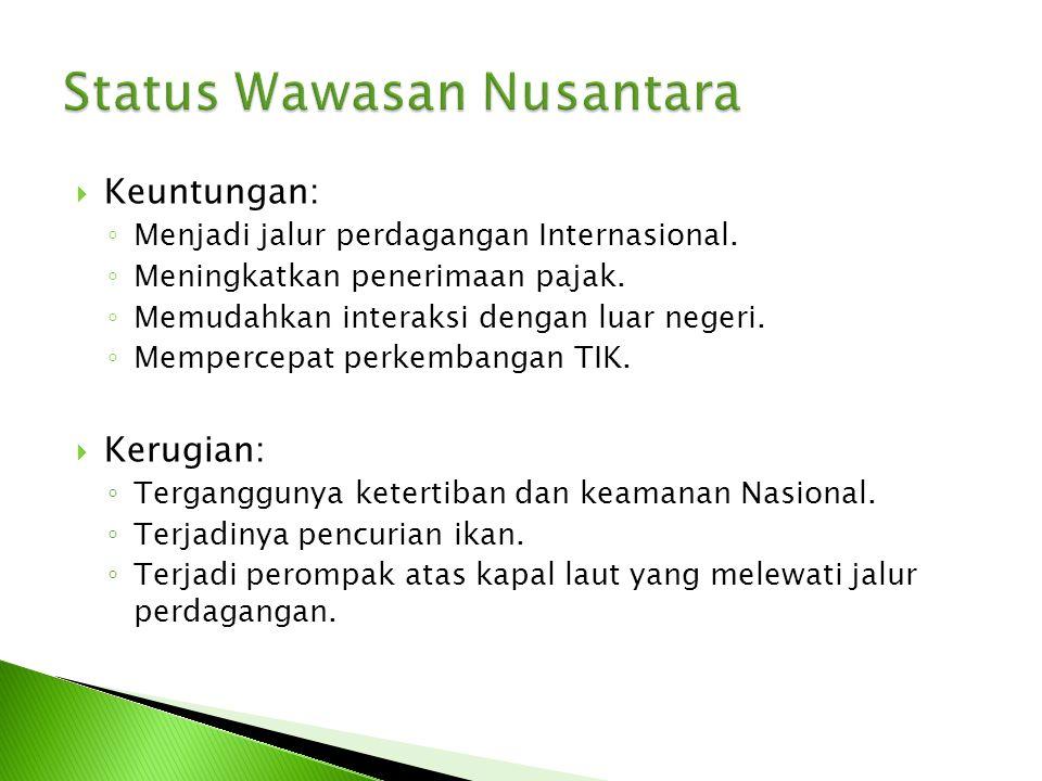 Status Wawasan Nusantara