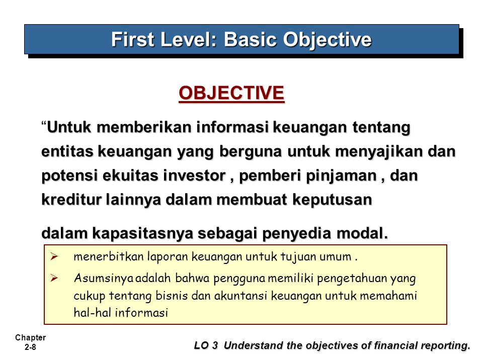 First Level: Basic Objective