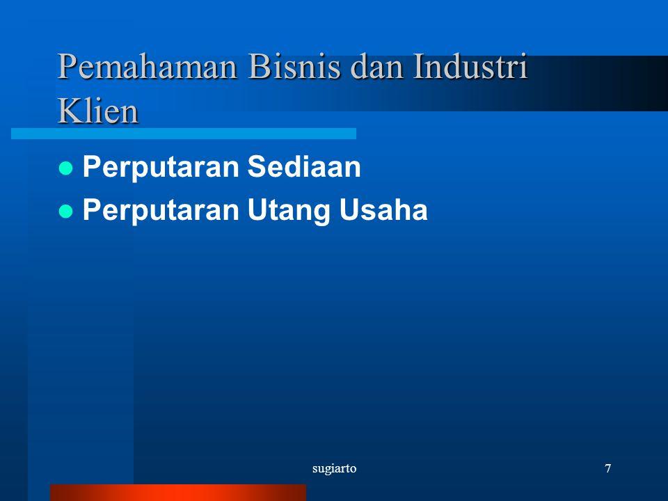 Pemahaman Bisnis dan Industri Klien