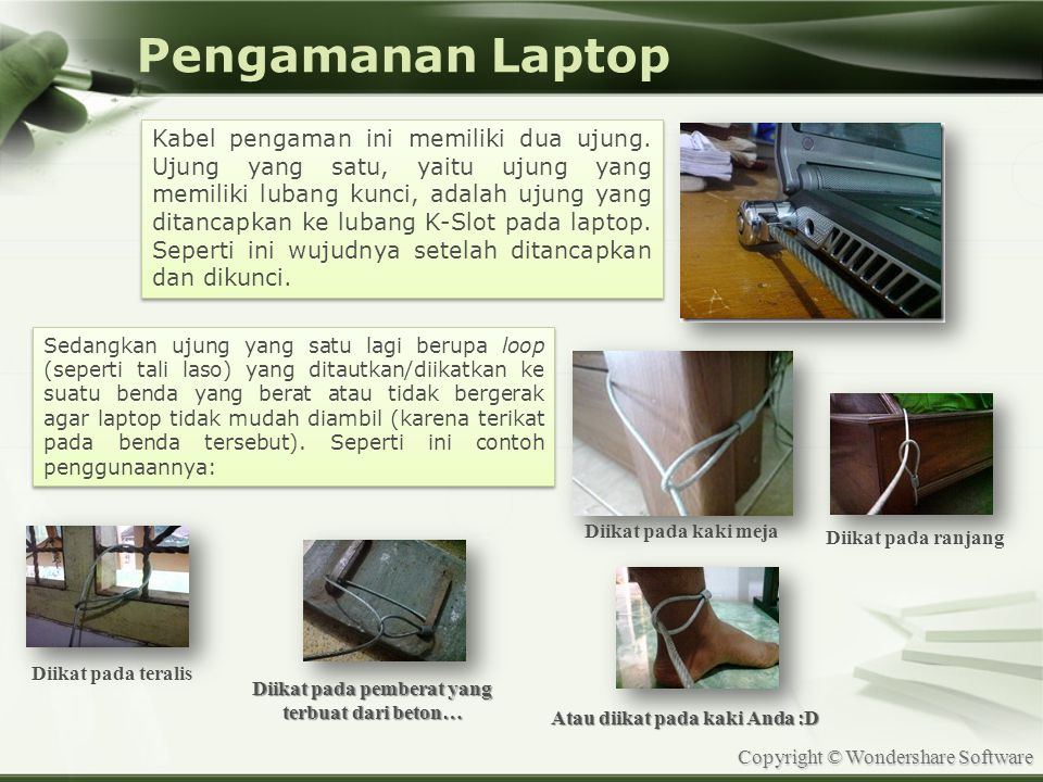 Pengamanan Laptop