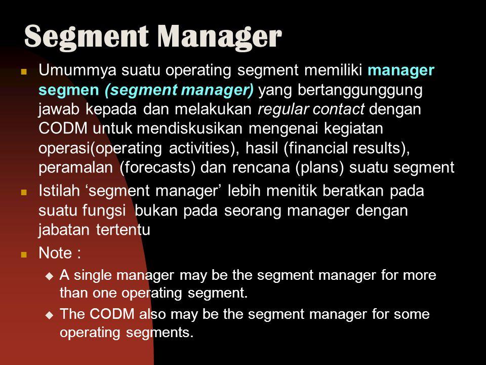 Segment Manager