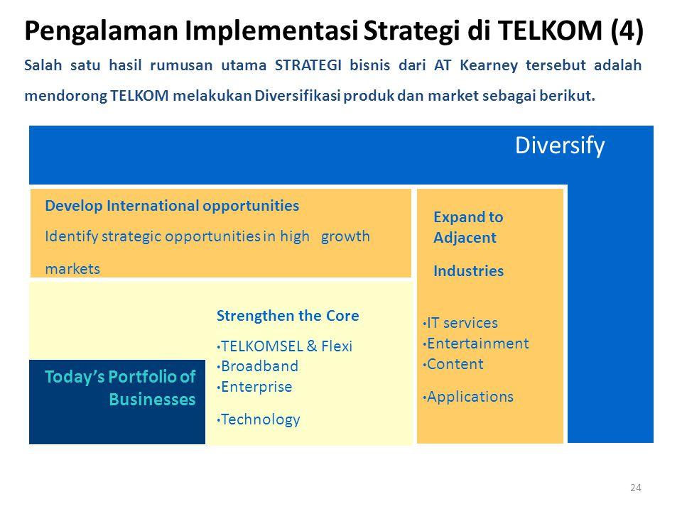 Pengalaman Implementasi Strategi di TELKOM (4)