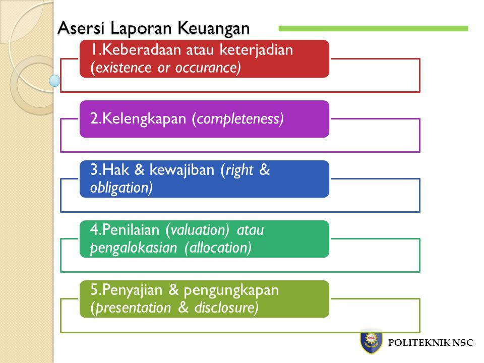 Asersi Laporan Keuangan