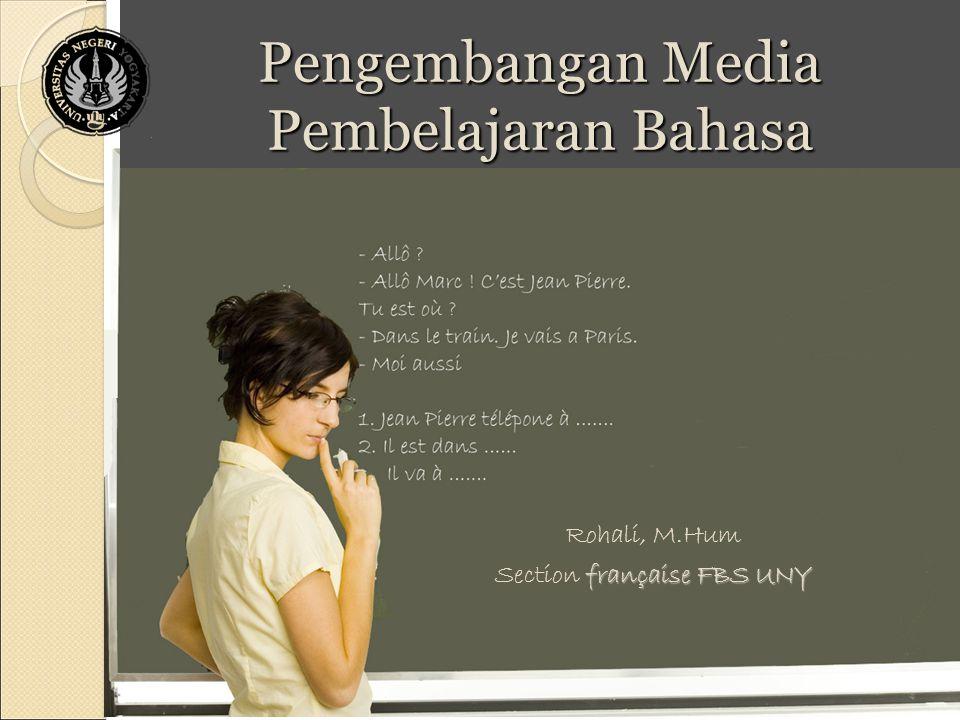 Pengembangan Media Pembelajaran Bahasa