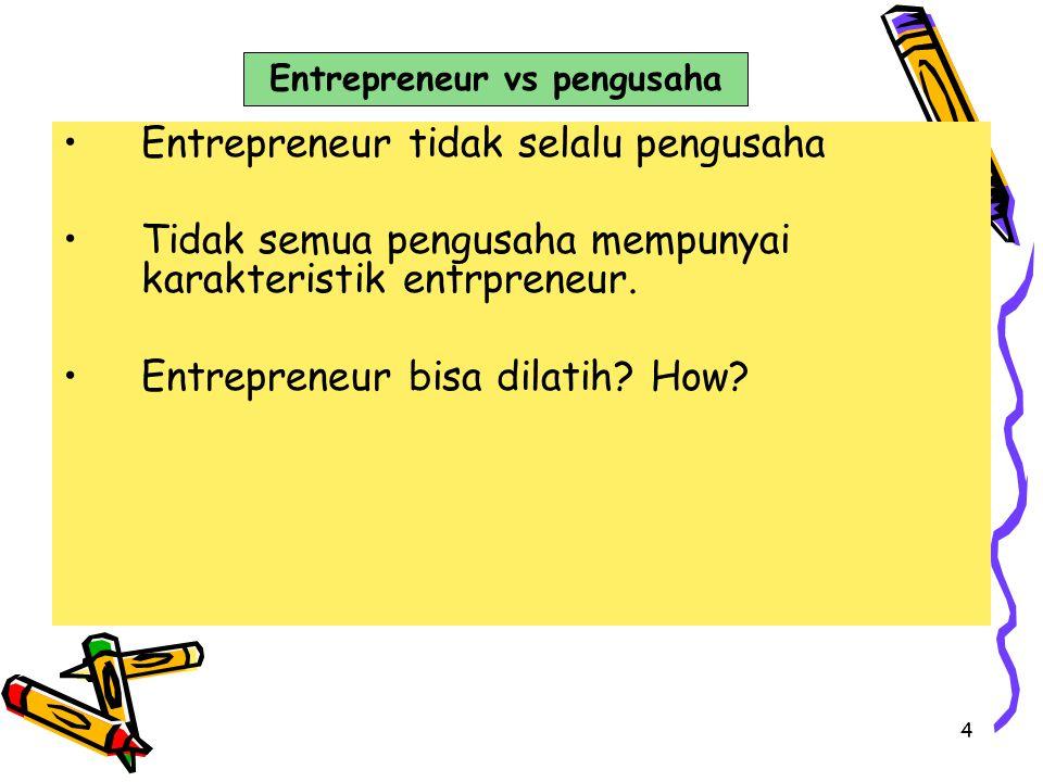 Entrepreneur vs pengusaha