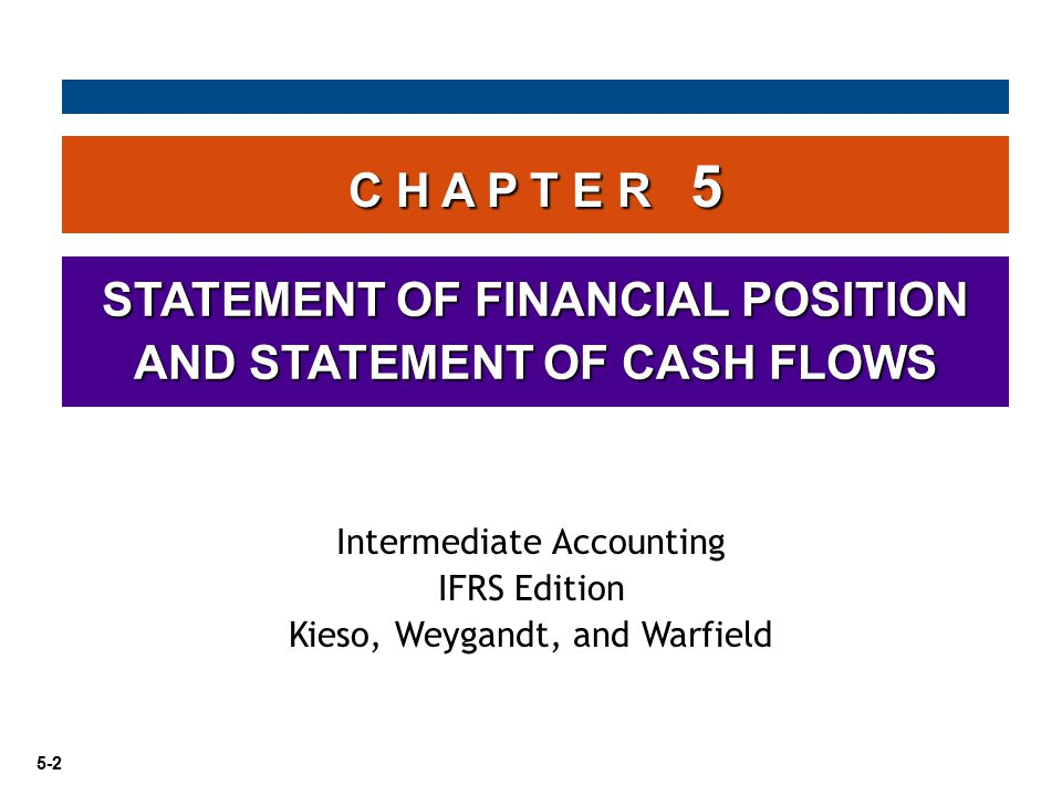 STATEMENT OF FINANCIAL POSITION AND STATEMENT OF CASH FLOWS