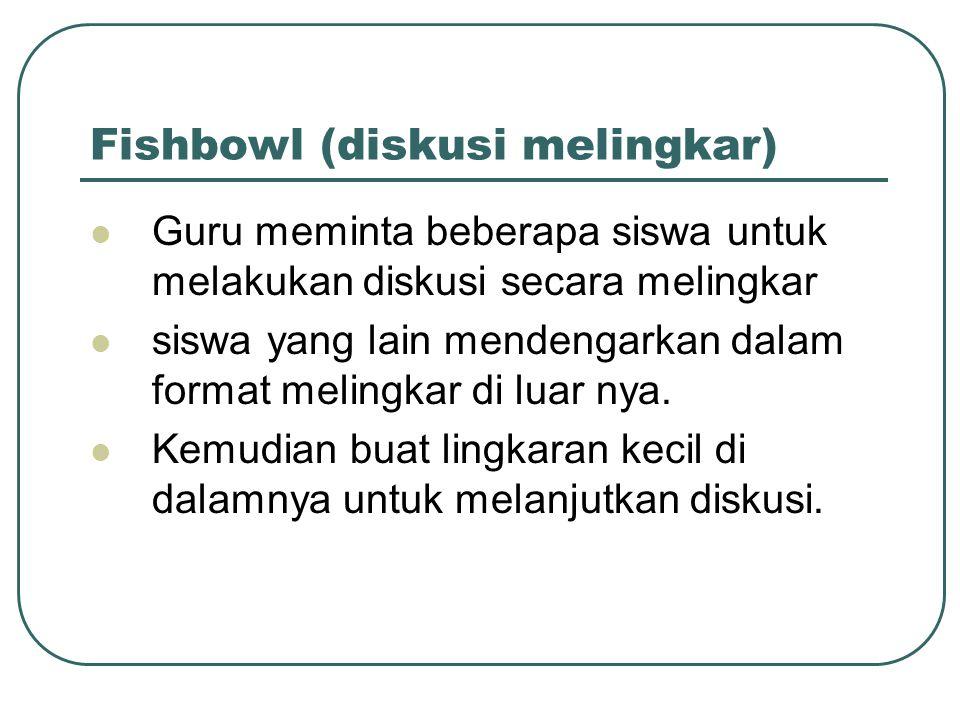 Fishbowl (diskusi melingkar)