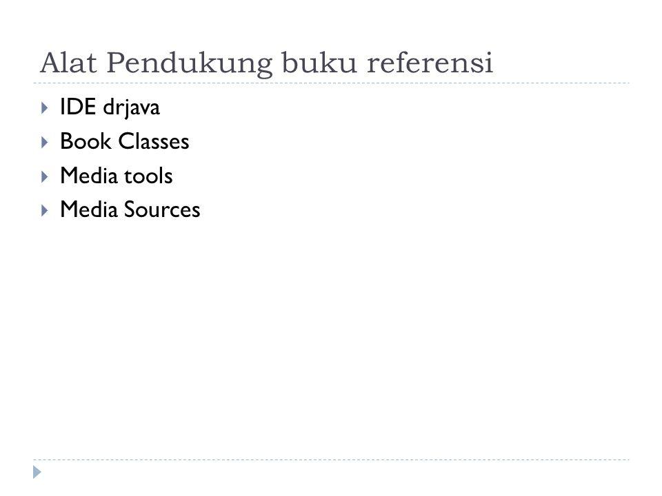 Alat Pendukung buku referensi