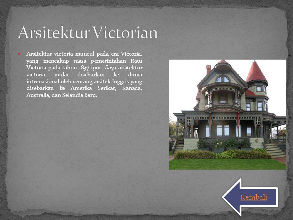 Arsitektur Victorian Kembali