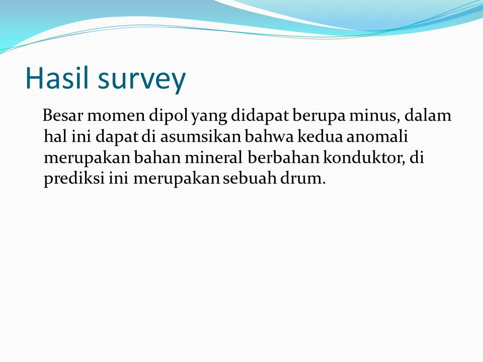 Hasil survey