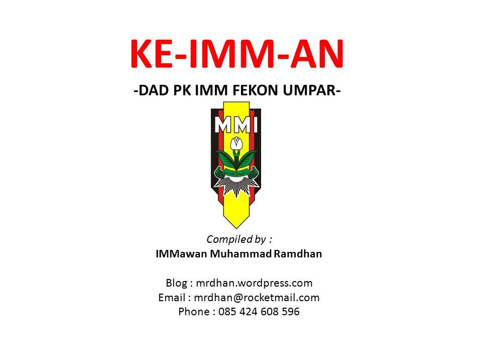 KE-IMM-AN -DAD PK IMM FEKON UMPAR-