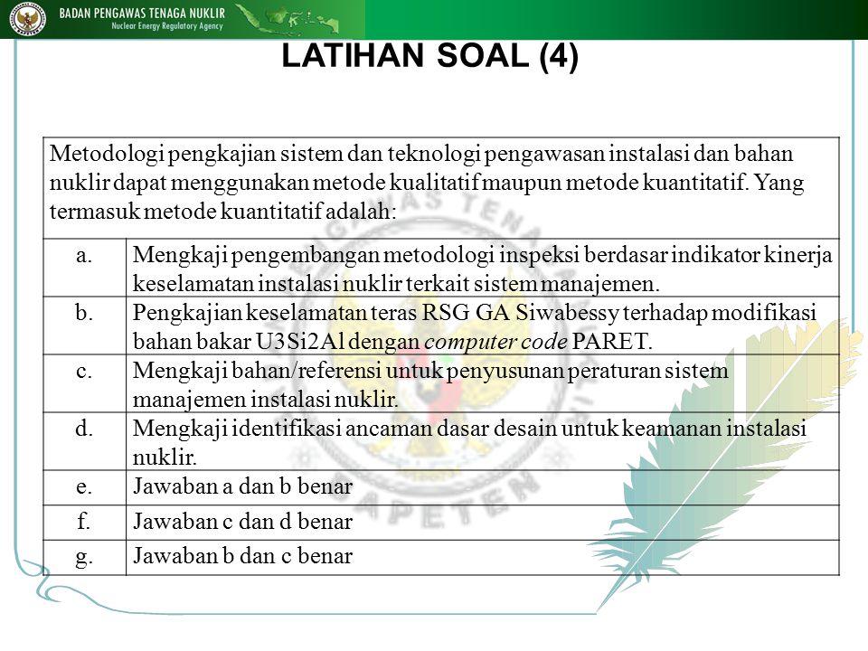LATIHAN SOAL (4)