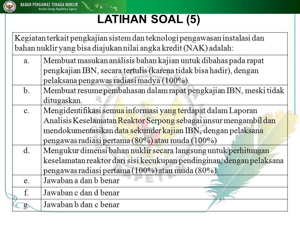 LATIHAN SOAL (5)