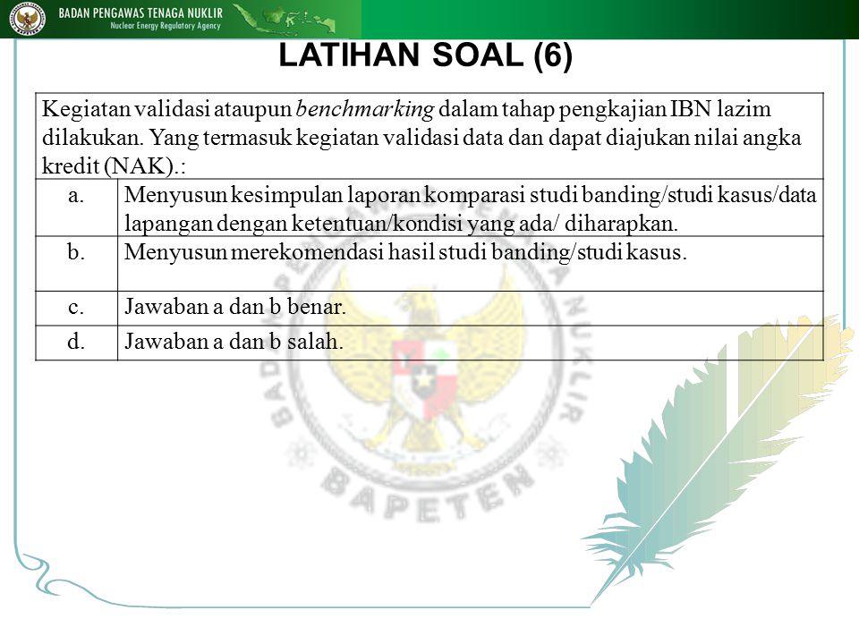 LATIHAN SOAL (6)