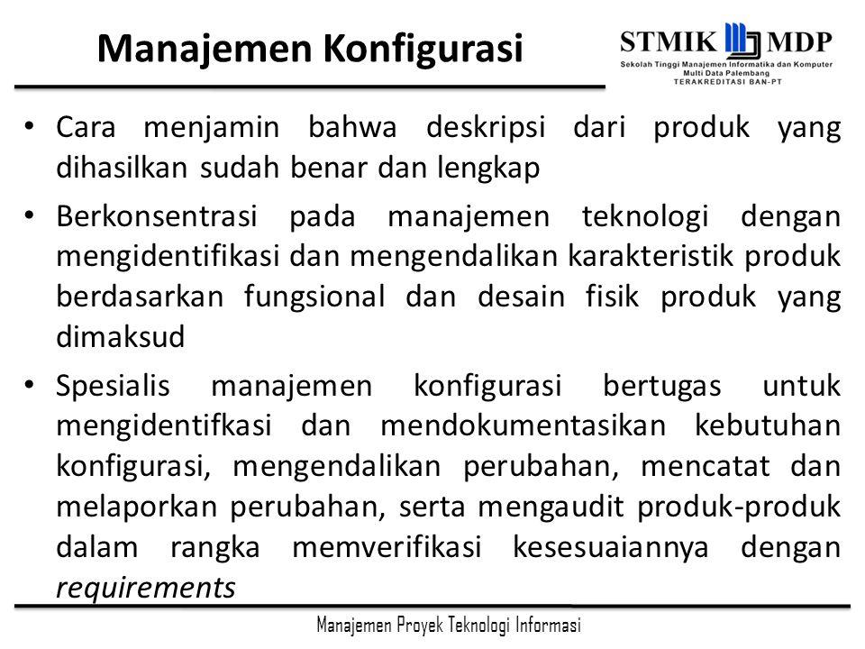 Manajemen Konfigurasi
