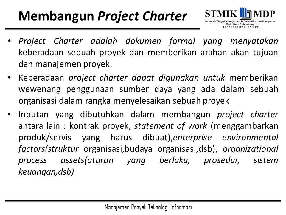 Membangun Project Charter