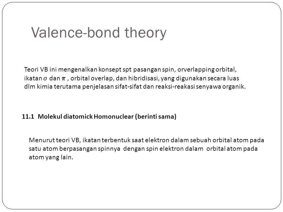 Valence-bond theory
