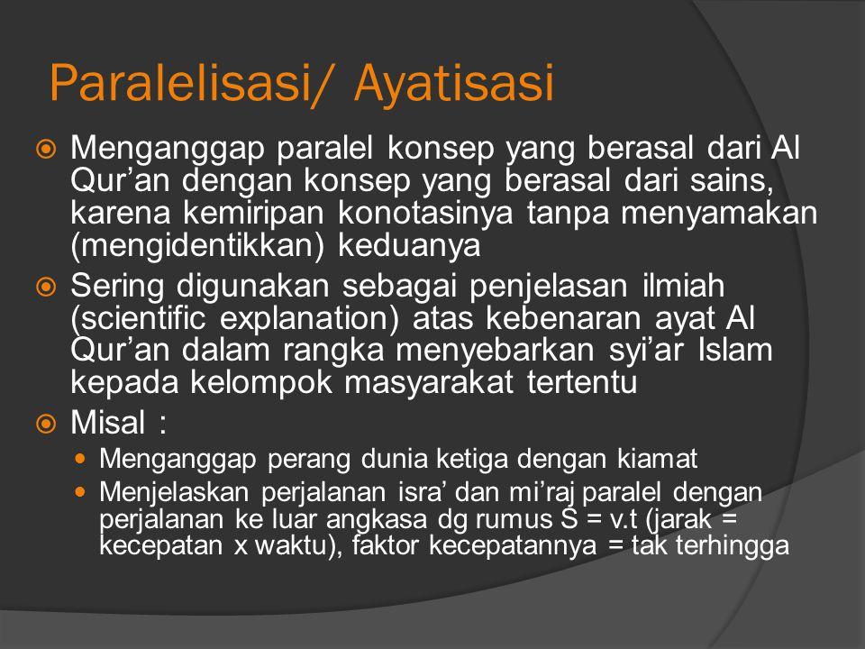 Paralelisasi/ Ayatisasi