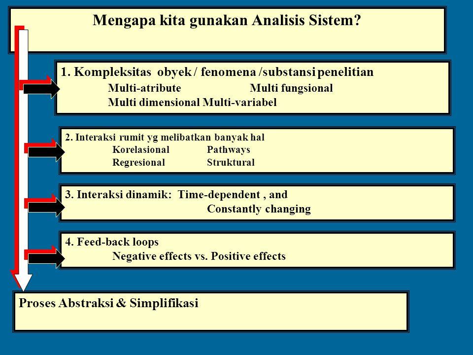 Mengapa kita gunakan Analisis Sistem