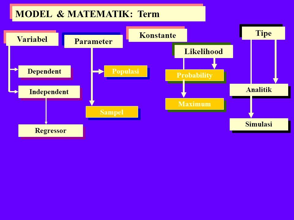 MODEL & MATEMATIK: Term