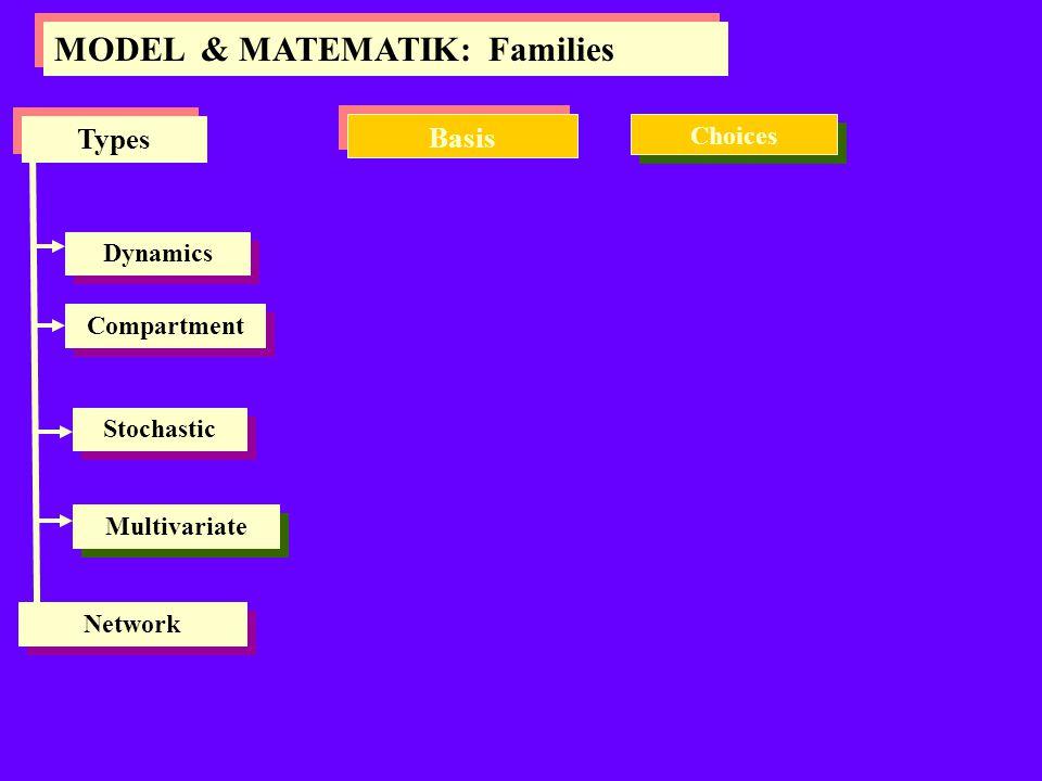 MODEL & MATEMATIK: Families