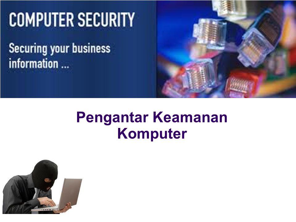 Pengantar Keamanan Komputer