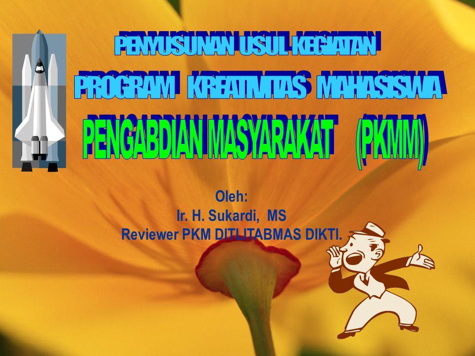 Reviewer PKM DITLITABMAS DIKTI.