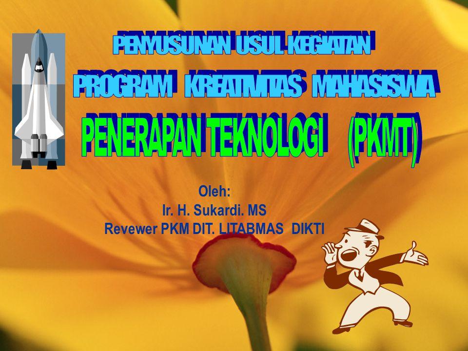 Revewer PKM DIT. LITABMAS DIKTI