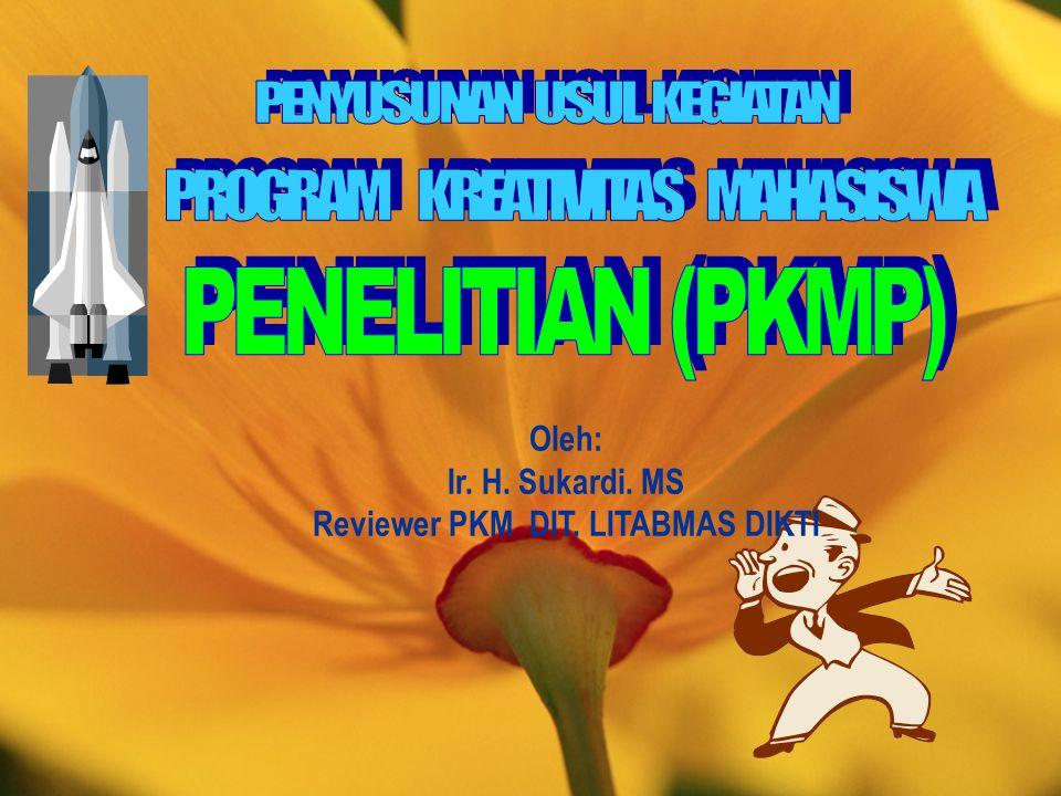 Reviewer PKM DIT. LITABMAS DIKTI