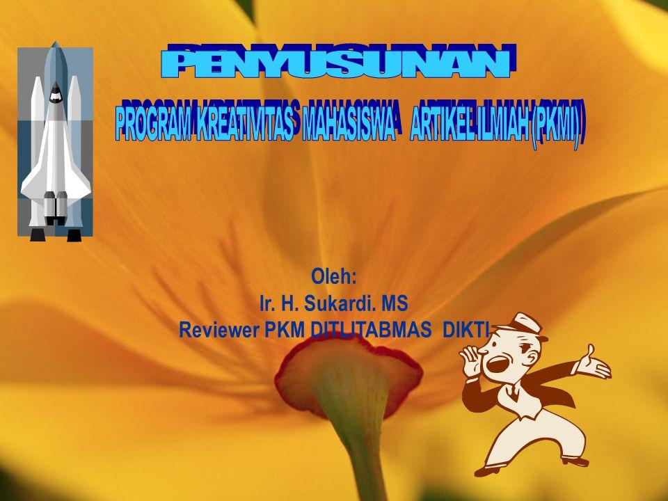 Reviewer PKM DITLITABMAS DIKTI