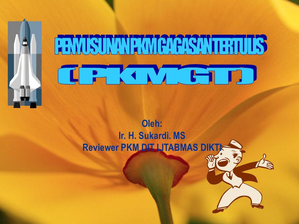 Reviewer PKM DIT LITABMAS DIKTI