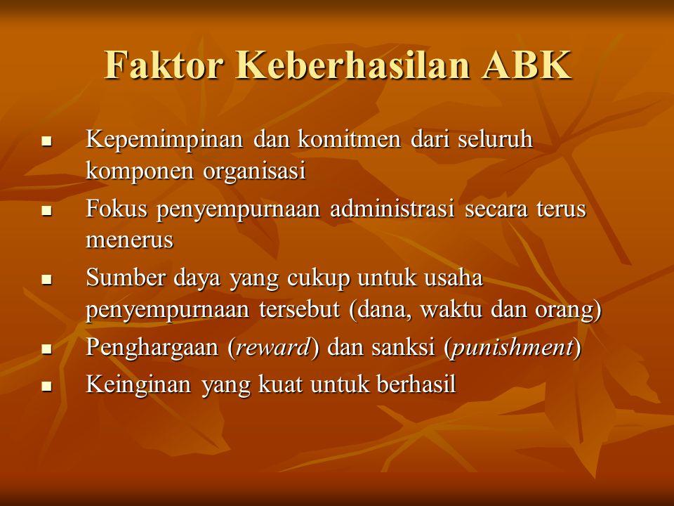 Faktor Keberhasilan ABK