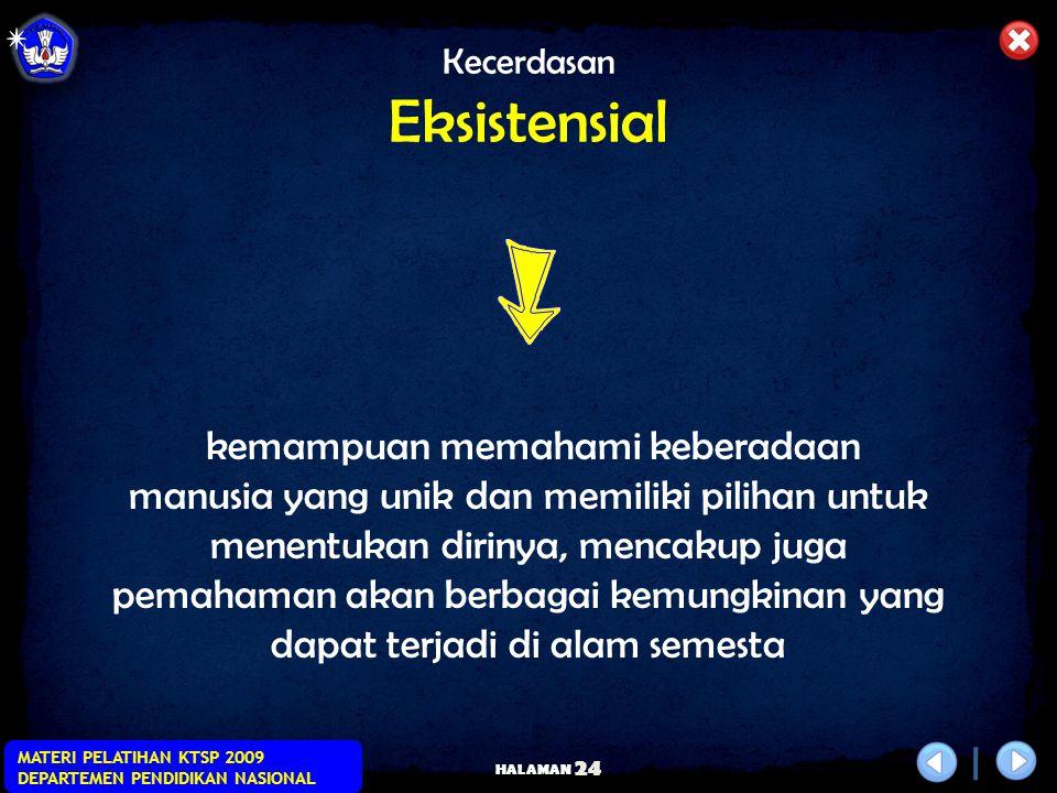 Kecerdasan Eksistensial