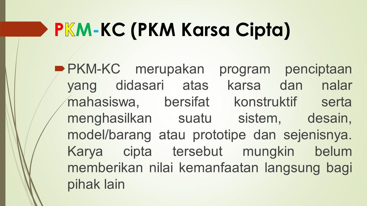PKM-KC (PKM Karsa Cipta)