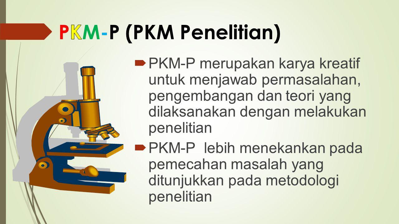 PKM-P (PKM Penelitian)